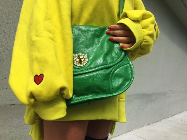 Oversized sweatshirt, yeezy style, OTK boots, spring outfit with boots, spring outfit with sweatshirt, pantone green color, designer consignment store, best fashion  blogger outfits, spring 2017 blogger outfit, toronto streetstyle, toronto fashion blogger, europe, lisbon, london style