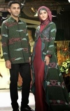 Model Baju Pesta Muslim sarimbit untuk acara formal Dan Semi Formal