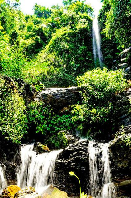 Các thác nước tại Khe Lạnh - Huế