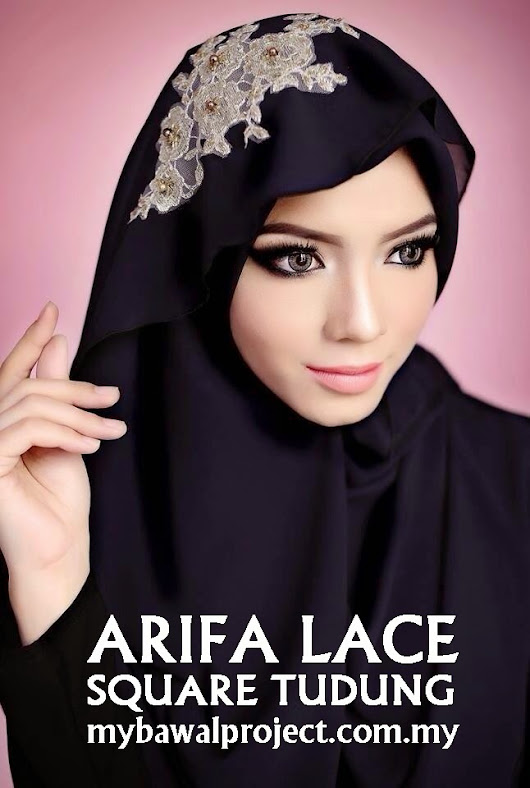 NEW | ARIFA LACE SQUARE TUDUNG