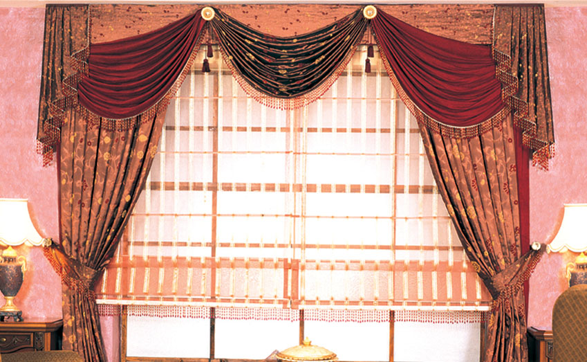 How To Drape Curtains Over Rods Scarves Sheer Voile A Curtain Pole