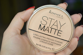 Review Rimmel Stay Matte Pressed Powder