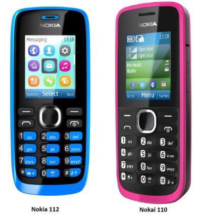 Ponsel murah dan dual sim card tampaknya masih menjadi salah satu senjata pamungkas Nokia Nokia 110 dan Nokia 112, Ponsel Murah Dual Sim Berfitur Easy-swap