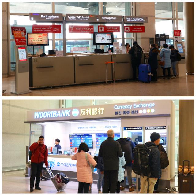 winter korea wifi portable currency exchange