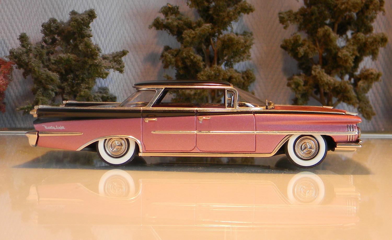 Voitures am ricaines 1 43 oldsmobile 98 4 door sedan 1959 for 1947 oldsmobile 4 door sedan