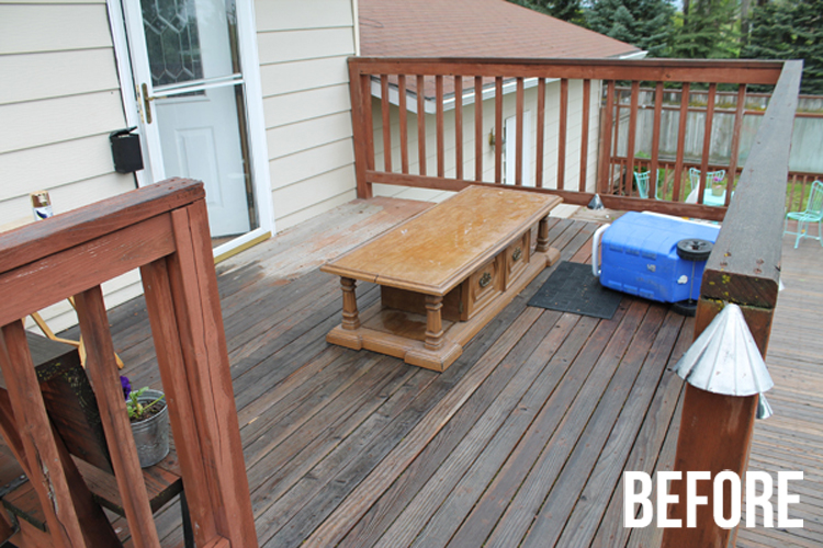 This deck got a great makeover!