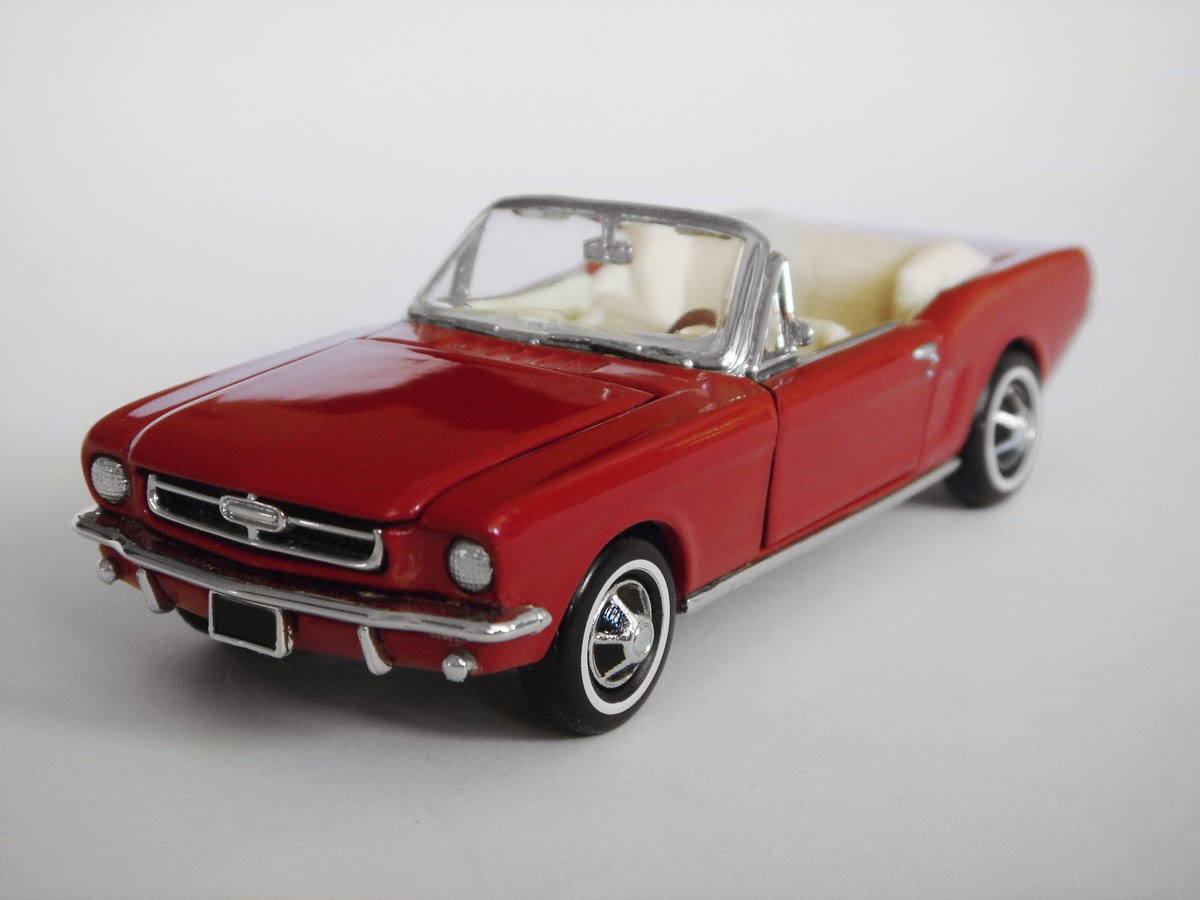American Icons 143 Collection 1964 Ford Mustang Convertible By Franklin Mint