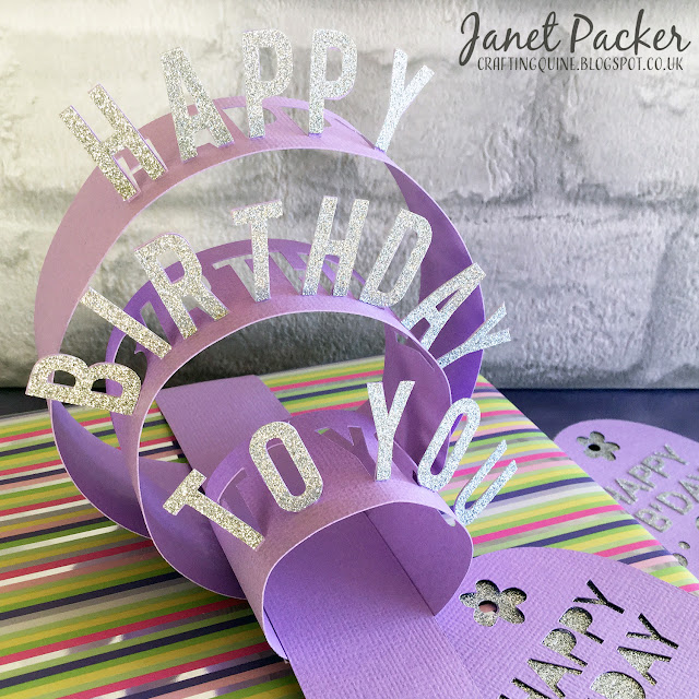 Using Silhouette Glitter Vinyl for giftware accessories and tags. Janet Packer, https://craftingquine.blogspot.co.uk for Graphtecgb aka Silhouette UK