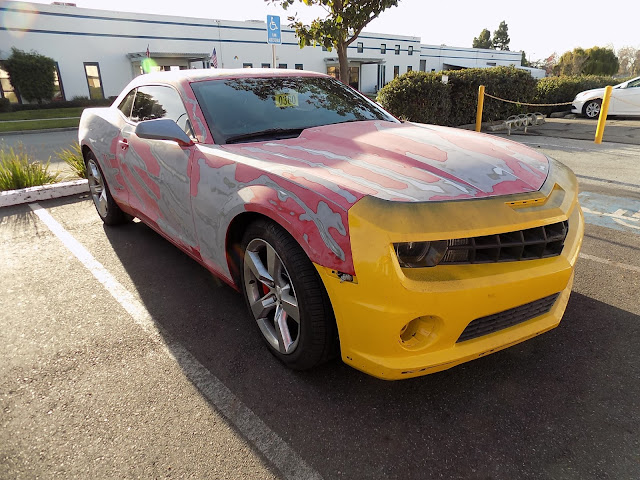 2010 Chevrolet Camaro before complete paint job at Almost Everything Auto Body.