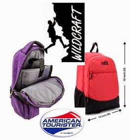 Flat 50% Off on Wildcraft & American Tourister Backpacks @ Flipkart (Limited Period Offer)