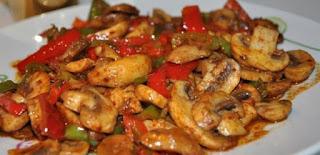 Mushroom Saute (Mantar Sote)