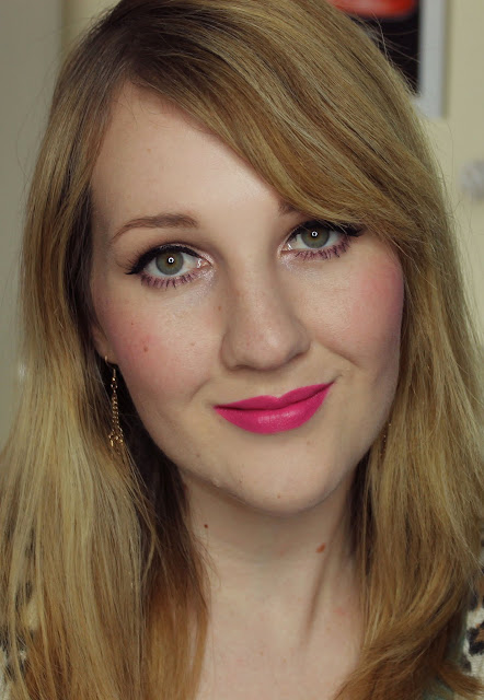MAC The Matte Lip 2015 - Pink Pigeon Lipstick Swatches & Review