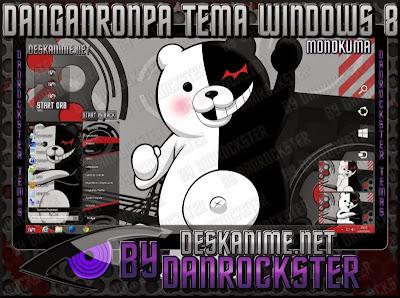 Monokuma Tema Windows 8 | Desk Anime