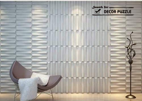 3d decorative wall art panels and 3d wall decor ideas for Interior wall art