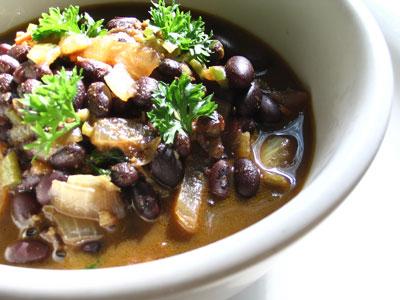 Spicy Tamarind Black Beans