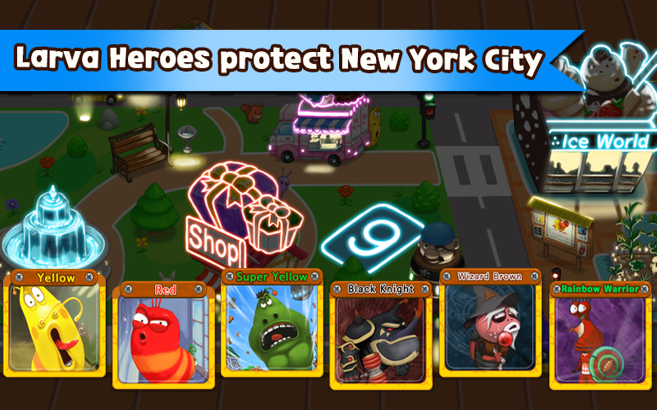 Download Larva Games, Larva Heroes: Lavengers 2014 Terbaru
