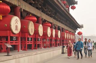 berkunjung ke China