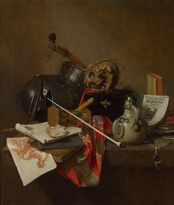 Jan Jansz. Treck - vanitas still life,1648.