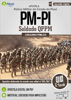 apostila Digital PMPI 2017 - Soldado Polícia Militar do Piauí - PM-PI CFSd.