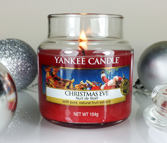 Yankee Candle Christmas Eve candle