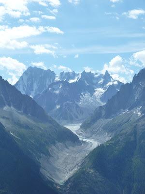 Mer de Glace Tour del Mont Blanc