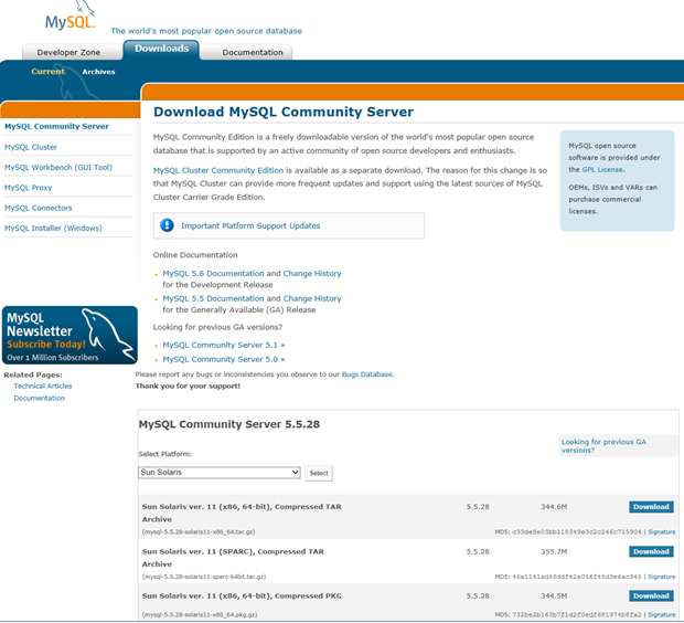 Virtual Database Support: How to Install MySQL from Generic Binaries