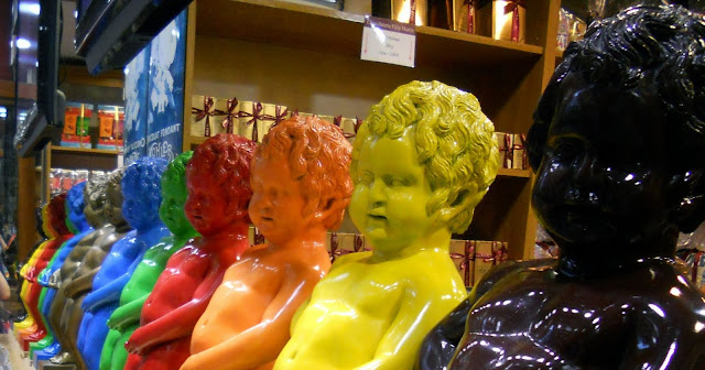 How to Buy and Use a 10 Journey Rail Pass in Belgium: Chocolate Mannekin P's in Brussels