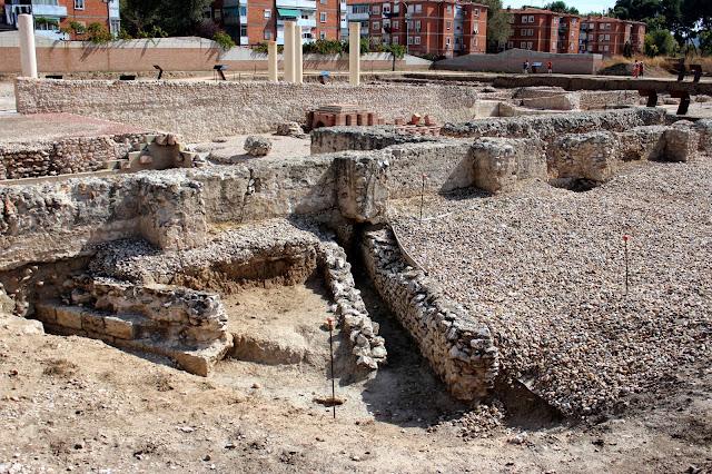 Ciudad romana de Complutum en Alcalá de Henares (Madrid)
