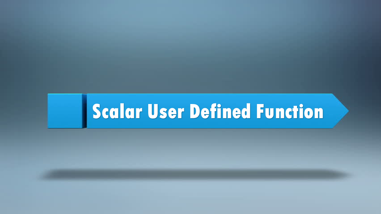 SAP HANA : Scalar User Defined Functions | HANA