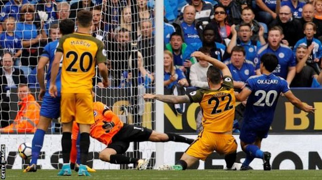 Leicester City vs Brighton & Hove Albion 2-0 Video Gol & Highlights.