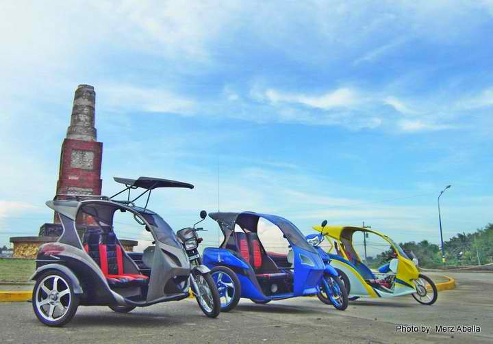 A new breed of tricycles in Iloilo | ILOILO: The HEART of