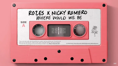 ROZES X Nicky Romero - Where Would We Be (#Official #Lyric #Video)