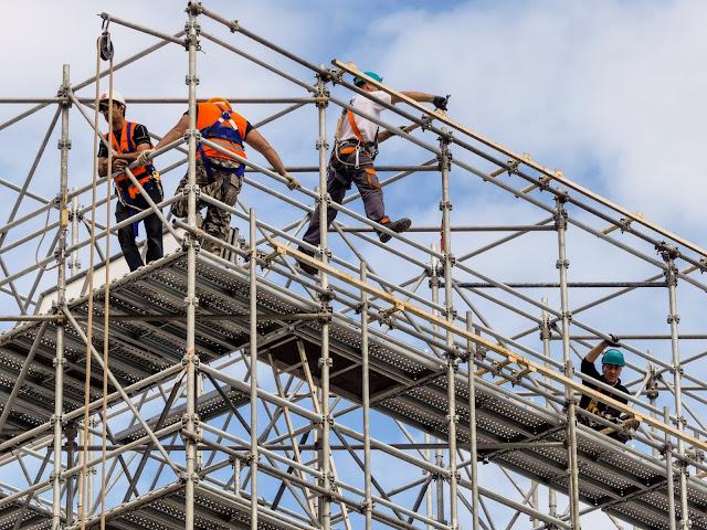 Berbagai Manfaat Perancah atau Scaffolding Untuk Konstruksi Bangunan