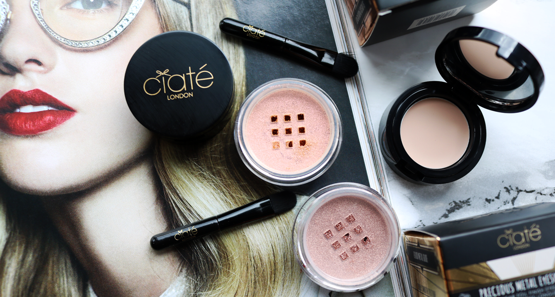 Ciate Precious Metal Eyeshadows - Review & Swatches