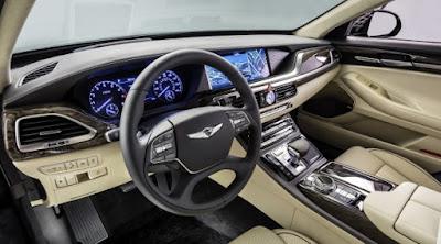New 2017 Genesis G90 interior image