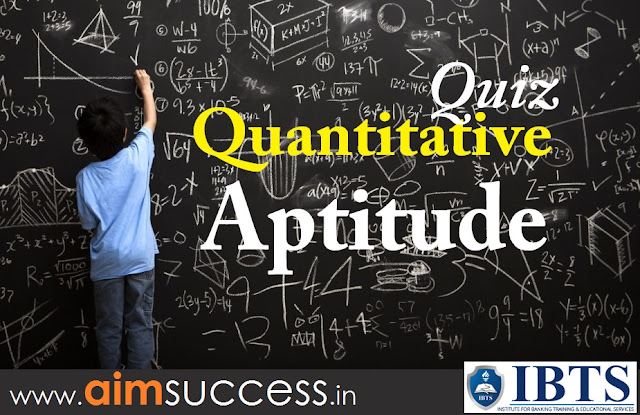 Quantitative Aptitude  for SBI PO/Clerk 2018: 18 May