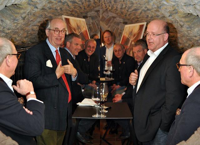 Michael Prinz zu Salm-Salm und Winzer Marc Adeneuer