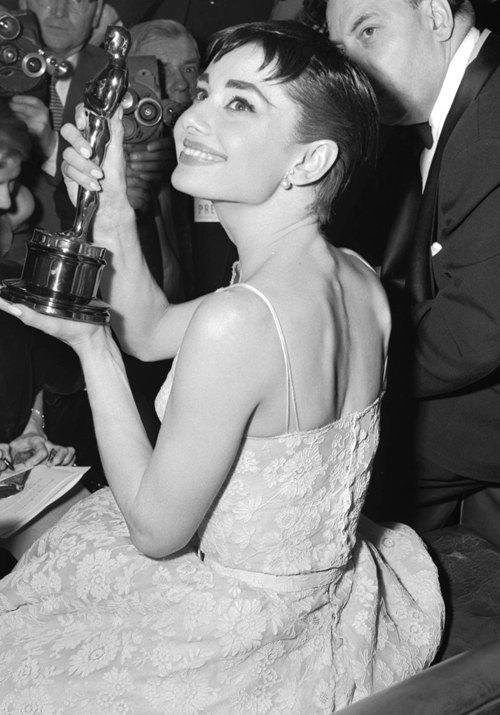 Morningstar Pinup Audrey Hepburn 1954 Oscar Dress