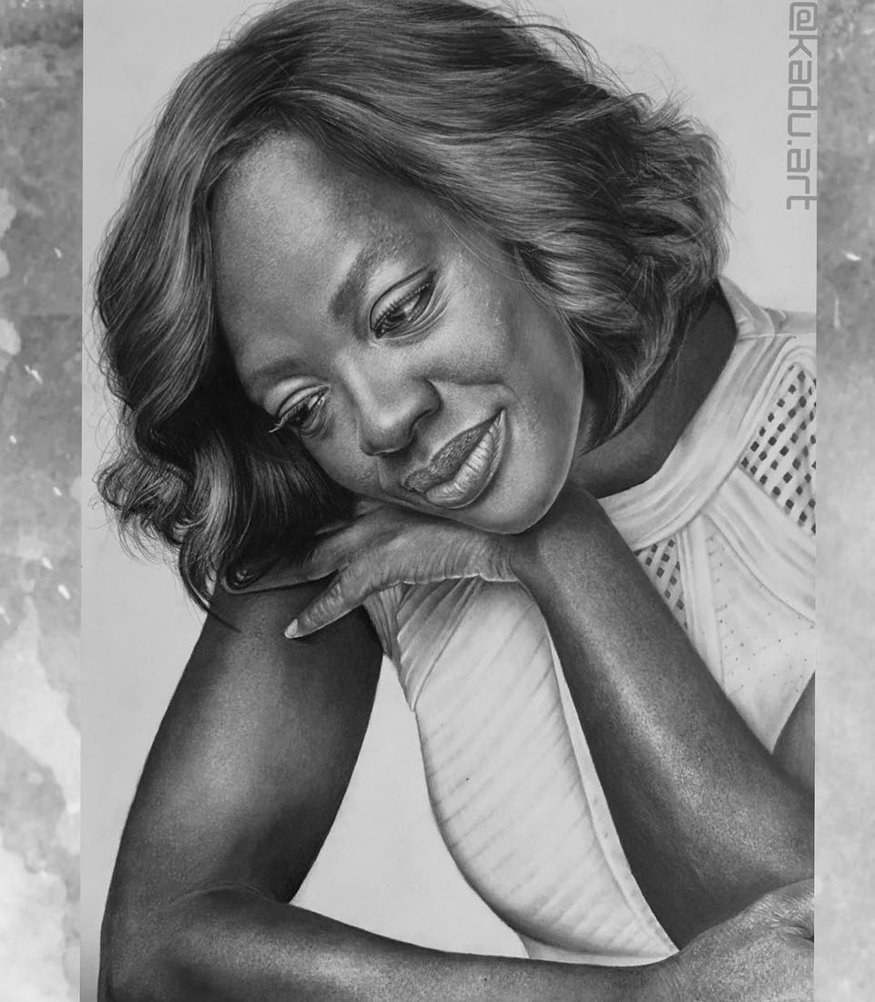 03-Viola-Davis-How-to-Get-Away-with-Murder-Eduardo-Calil-Celebrity-Portrait-Drawings-Color-and-Black-and-White-www-designstack-co