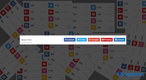 How to Add Simple And Elegant Social Sharing Widget In Blogger