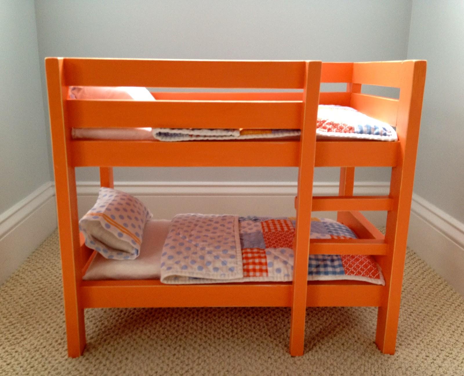 Diy Orange Doll Bunk Beds Jaime Costiglio