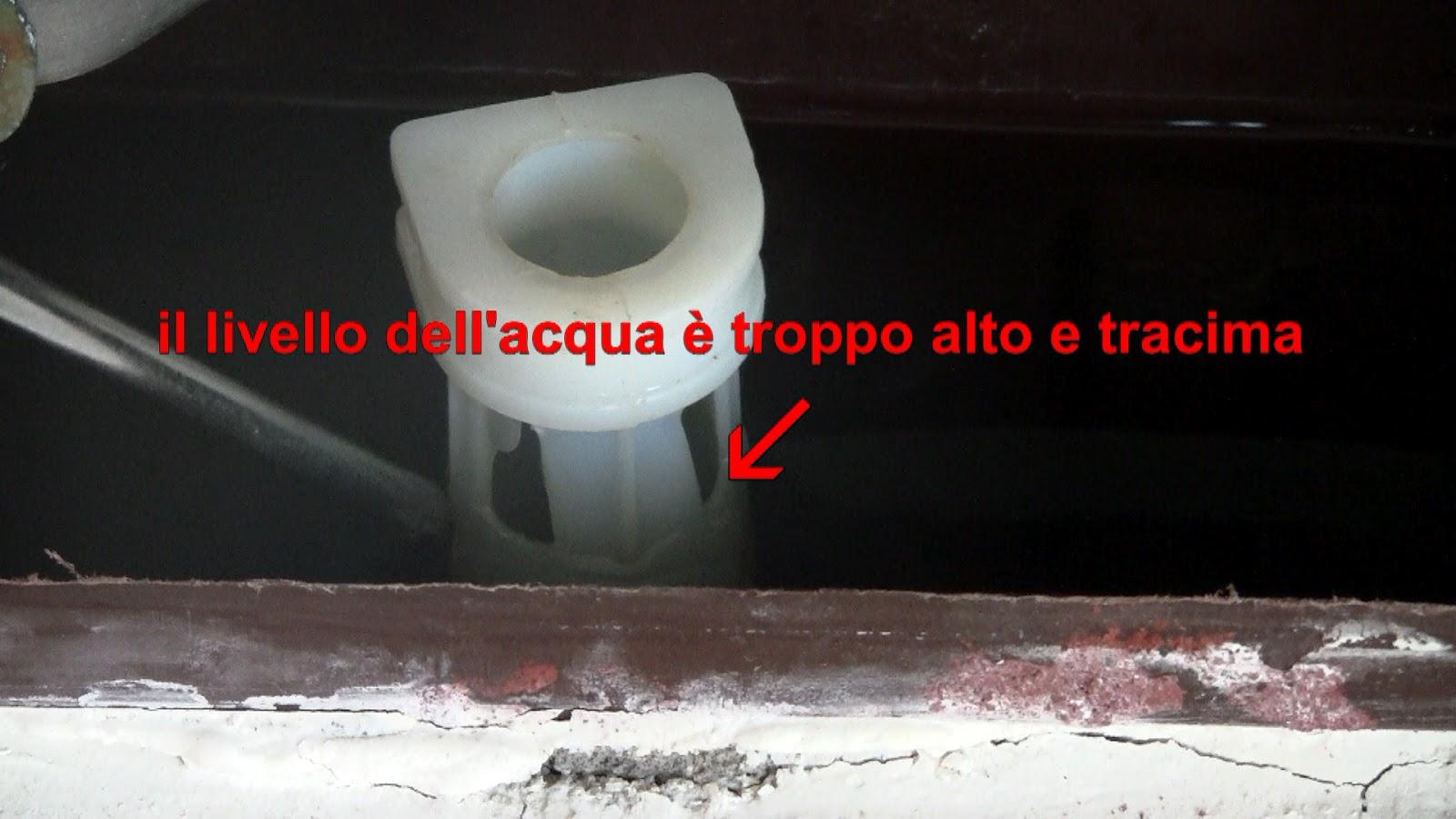 fai da te con l'esperto tuttofare -: perdita cassetta wc