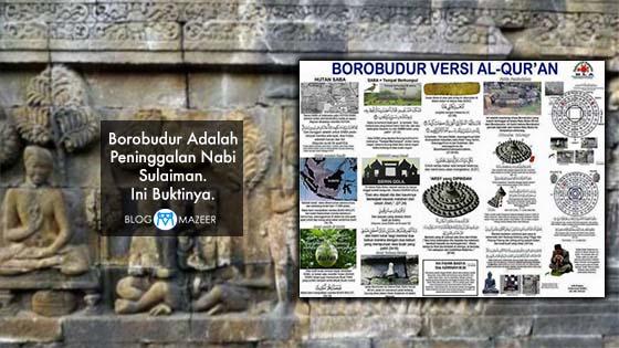 Borobudur Adalah Peninggalan Nabi Sulaiman. Ini Buktinya.