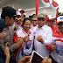 Menteri BUMN Melintas Jalur Tol Pematang Kayuagung