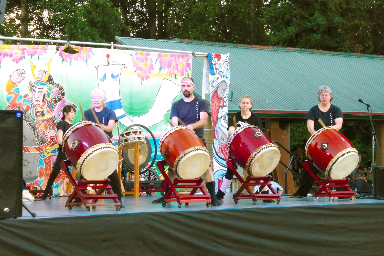 Eugene Oregon Obon & Taiko Festival 2018, Bon Odori Taiko Festival Eugene Oregon 2018, Obon Festival Eugene Oregon, Japanese American Association of Lane County, Eugene Taiko Eugene Oregon, Under The Plum Blossom Tree at Obon & Taiko Festival, Eugene Obon & Taiko Festival Alton Baker Park Eugene Oregon, Obon Festival Alton Baker Park Eugene, Eugene Taiko Alton Baker Park Eugene Oregon