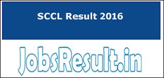 SCCL Result 2016
