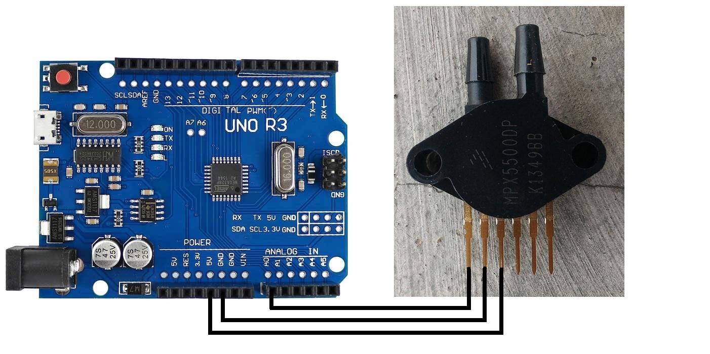 Mpx Dp Pressure Sensor Arduino Code: Jual arduino detil