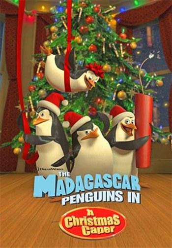 Los Pinguinos de Madagascar Noche Antes de Navidad DVDRip Latino