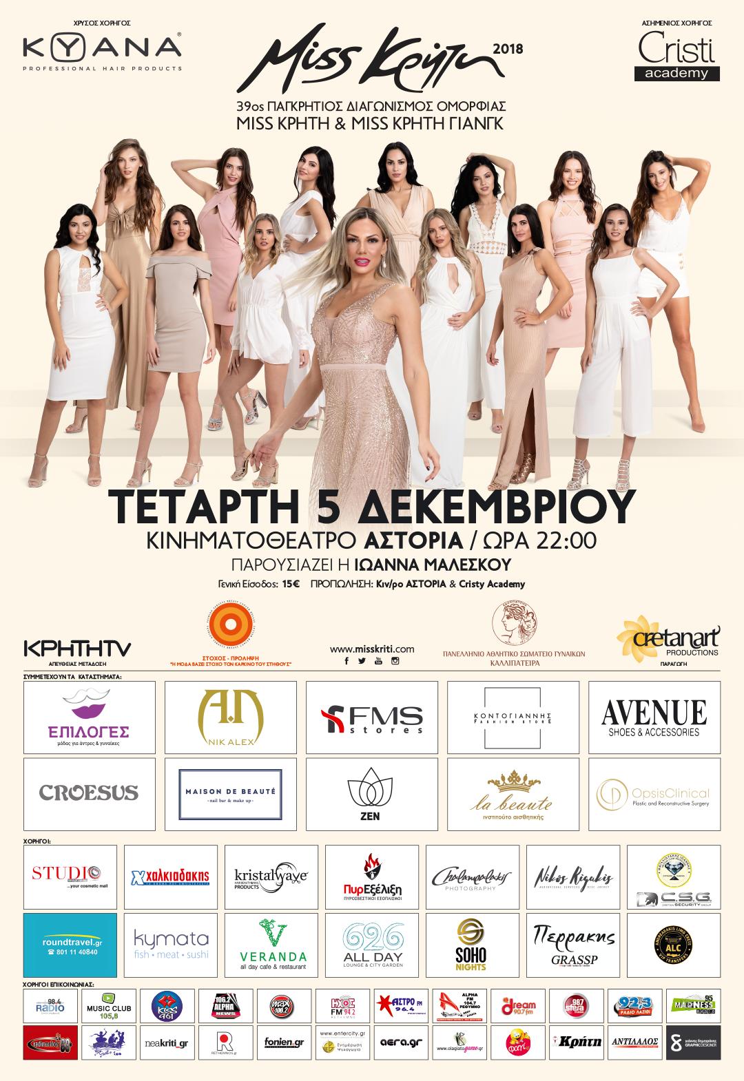 f28aae45cb8 iraklioblog.blogspot.com: Miss Κρήτη 2018 - Οι 13 φιναλίστ που ...