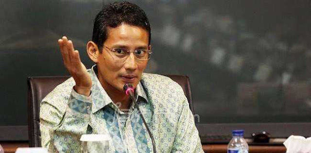 Sandi Tidak Ingin Pengusaha Muda Indonesia Jadi Penonton
